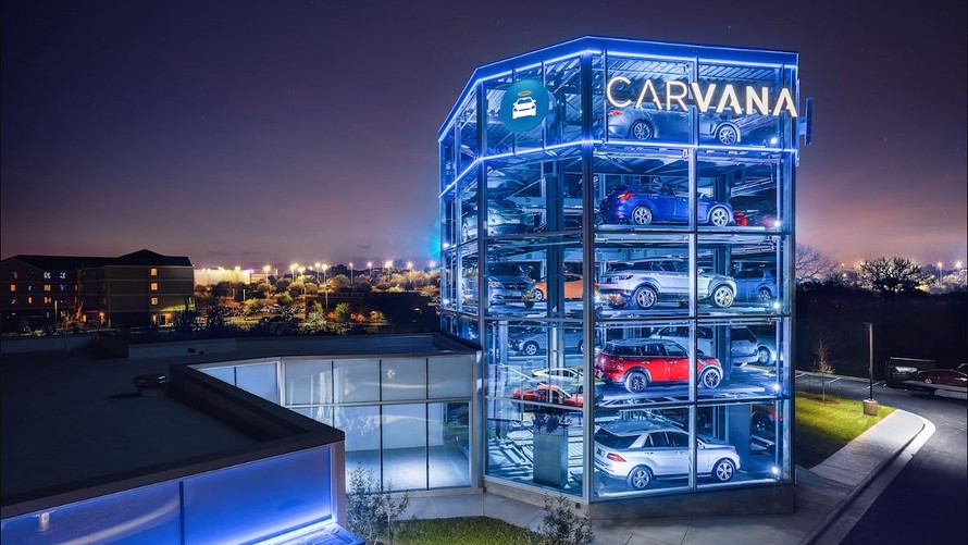 carvana ipo 4 things to know about the car vending machine company brio financial. Black Bedroom Furniture Sets. Home Design Ideas