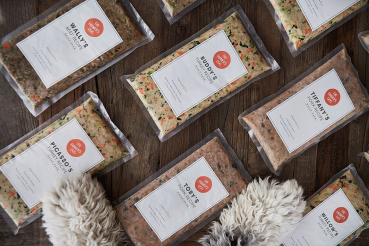 The Farmer's Dog, a customized pet food subscription service, scoops up $8.1 million