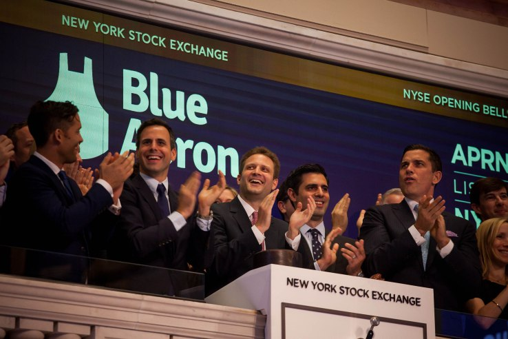 Blue Apron sees some signs of life as it pulls back its marketing engine