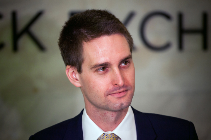 Snapchat's Evan Spiegel Is $1 Billion Poorer Than Before IPO