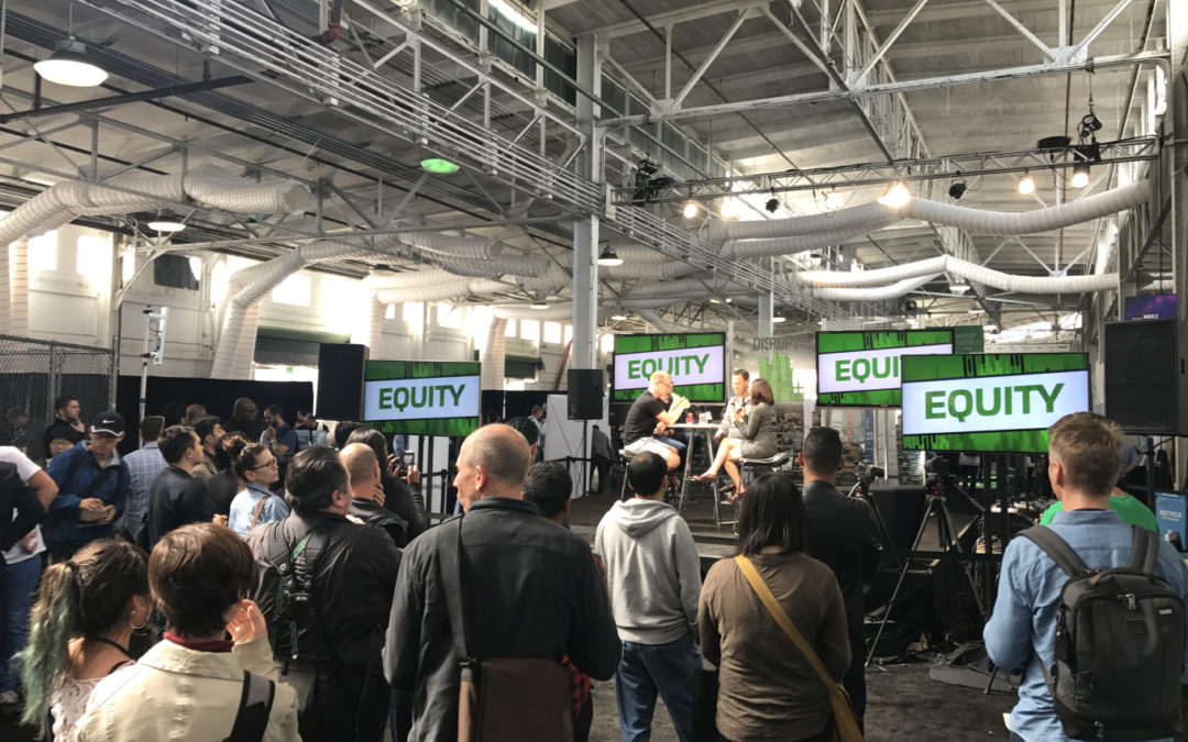 Live from Disrupt SF: Equity talks Slack, Lyft and flying cars