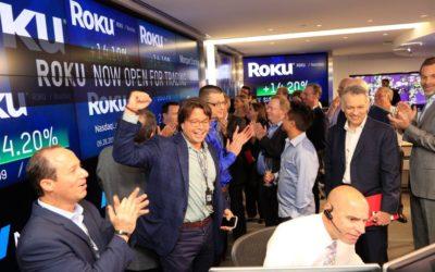 Roku IPO: Company sets 2017 record as shares soar
