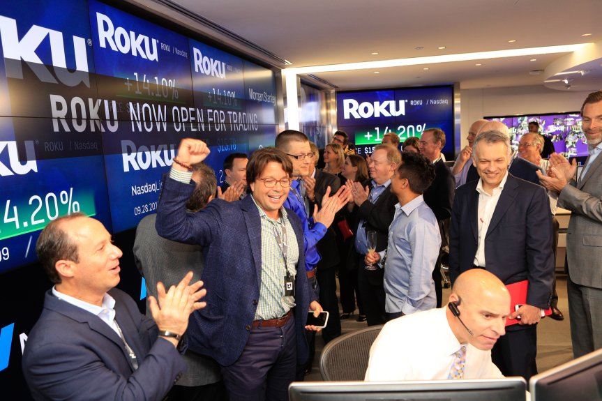 Roku IPO: Company sets 2017 record as shares soar