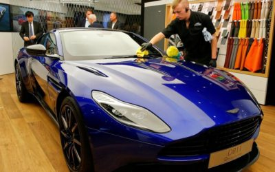 Aston Martin could go public in wake of Ferrari's listing success