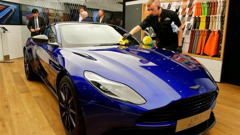 Aston Martin could go public in wake of Ferrari's listing success